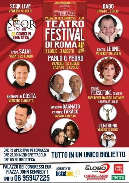TERRAZZE - TEATRO FESTIVAL DI ROMA