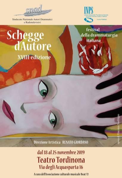 """""""SCHEGGE D'AUTORE  2019"""" IN SCENA I DRAMMATURGHI CON I LORO NUOVI CORTI"""
