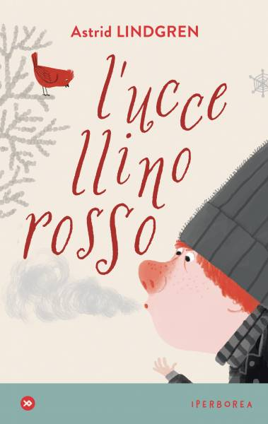 astrid pippi calzelinghe uccellino rosso